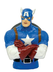 marvel captain america bust bank america's