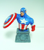 captain america bust paperweight shield hand