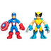 super hero adventure captain america wolverine
