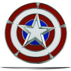 Captain Americas Shield Belt Buckle