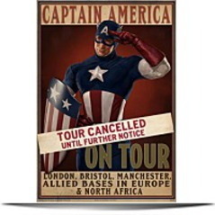 Discount E Fx Captain America Tour Cancelled Movie