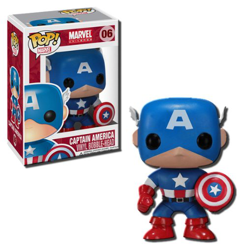 Pop Marvel 4 Inch Vinyl Figure Captain