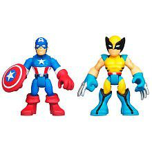 Super Hero Adventure Captain America And Wolverine