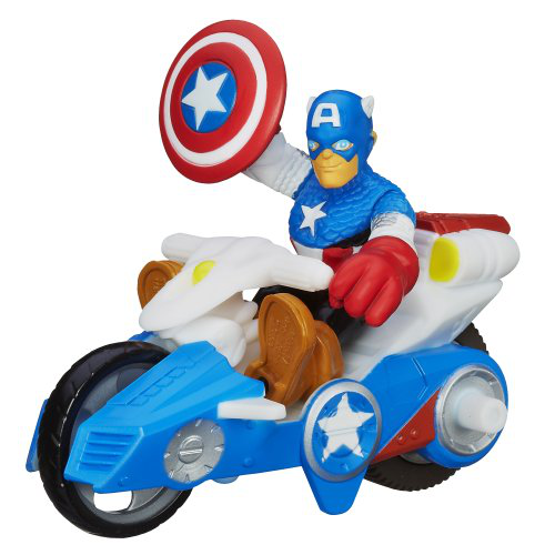 Playskool Heroes Marvel Adventures Captain